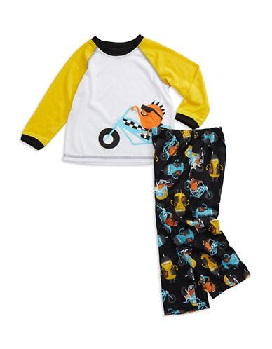 Long Sleeve Monster Biker Pajamas for Toddler Boys