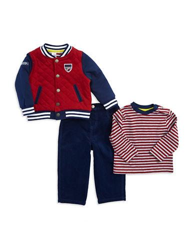 LITTLE MEBaby Boys Three Piece Jacket Set
