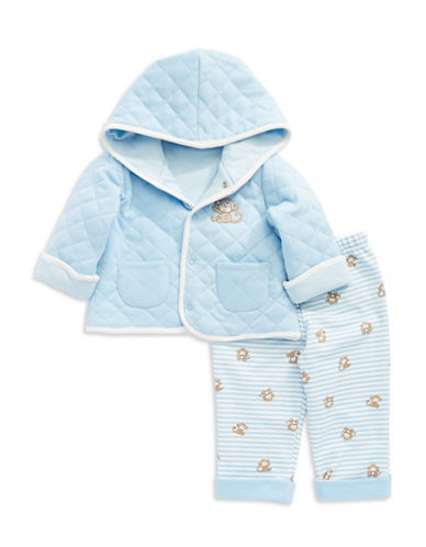 LITTLE ME Two Piece Reversible Monkey Jacket Set