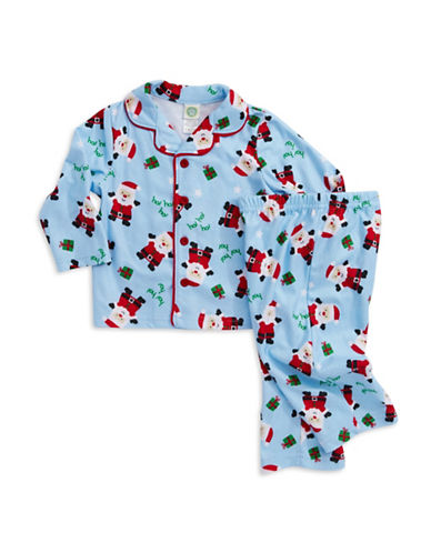 Little Me Santa Claus Holiday Pajama Set for Baby Boys