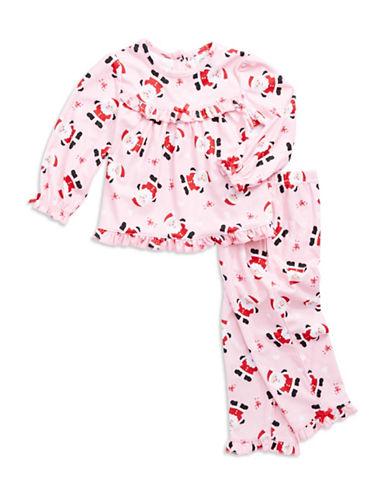 Little Me Santa Claus Christmas Pajamas for Toddler Girls