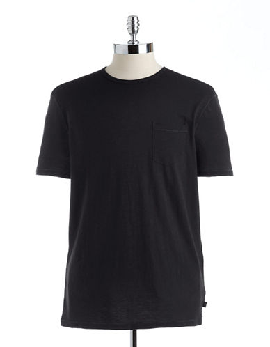 JOHN VARVATOS U.S.A. Cotton Slub Pocket T-Shirt