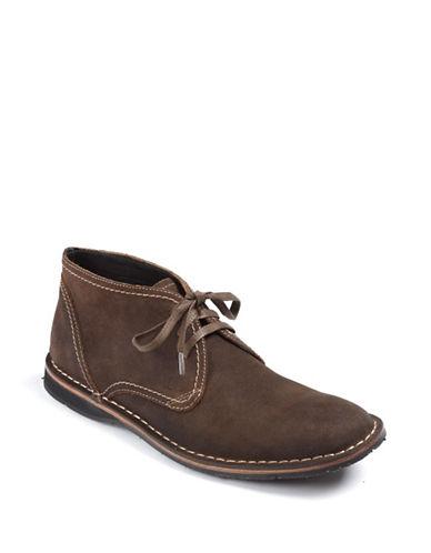JOHN VARVATOS U.S.A.Suede Hipster Chukka Boots
