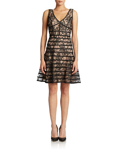 Shop Betsy & Adam online and buy Betsy & Adam Lace Cocktail Dress dress online