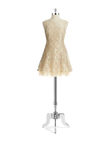 BETSY & ADAMLace Party Dress