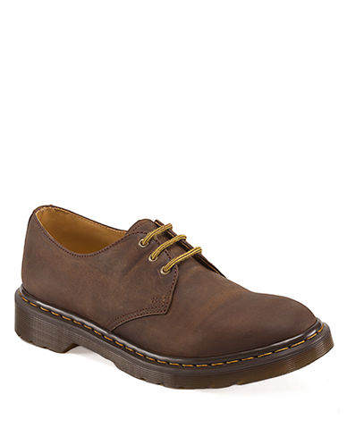 DR. MARTENS Dorian Leather 3-Eye Oxfords
