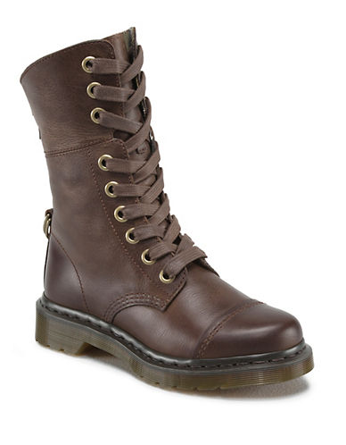 DR. MARTENS Amilita Leather Boots