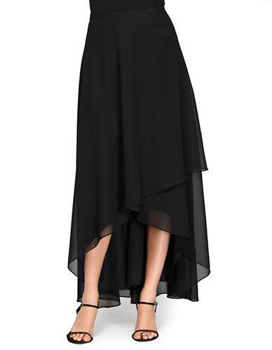ALEX EVENINGSHi Lo Overlay Skirt