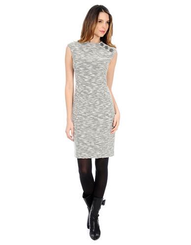 KAY UNGERMarled Knit Sheath Dress