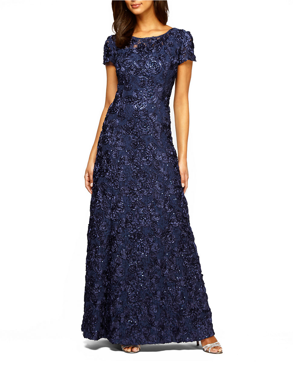 Long Evening Dresses Lord And Taylor - Plus Size Dresses