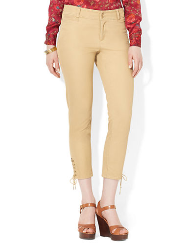 LAUREN RALPH LAURENCotton Skinny Pants
