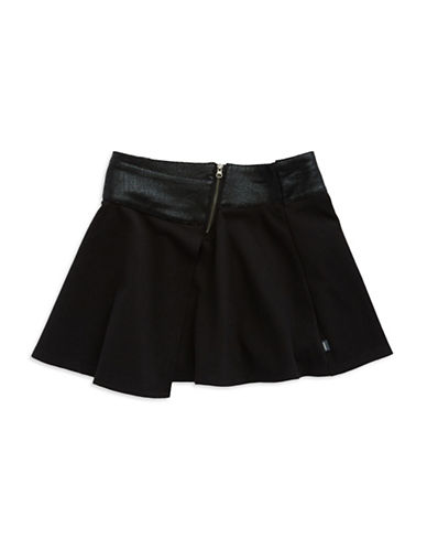 DKNYGirls 7-16 Faux Leather-Trimmed Skirt