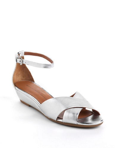 MARC BY MARC JACOBS Leather Demi Wedge Sandals