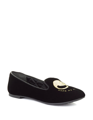 MARC BY MARC JACOBS Suede Smoking Slippers