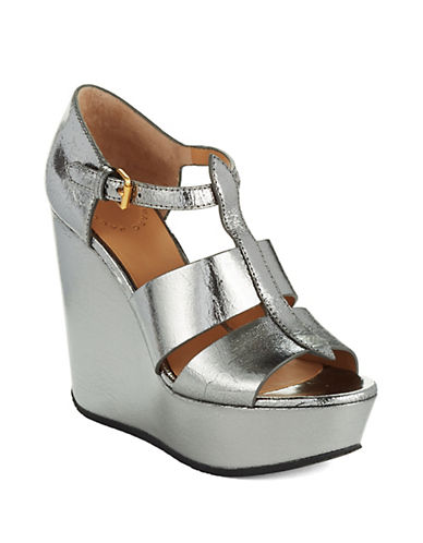 MARC BY MARC JACOBS Metallic Wedges
