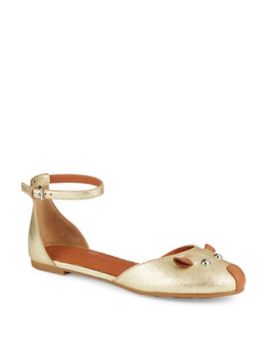 MARC BY MARC JACOBS Metallic Flats
