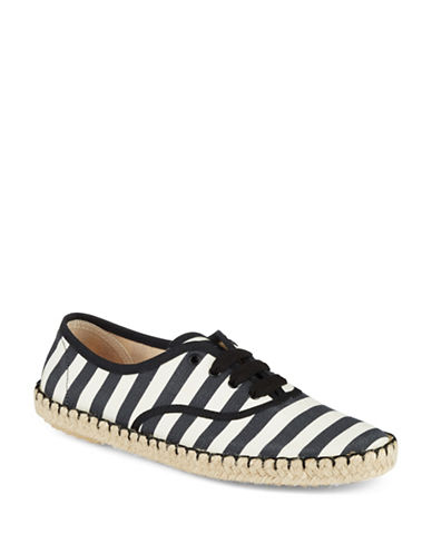 MARC BY MARC JACOBS Striped Lace Up Shoes