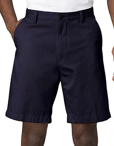 NAUTICAFlat-Front Cotton Shorts
