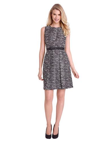 TAHARI ARTHUR S. LEVINEPleated A Line Dress