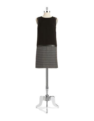 TAHARI ARTHUR S. LEVINEPatterned Drop waist Dress