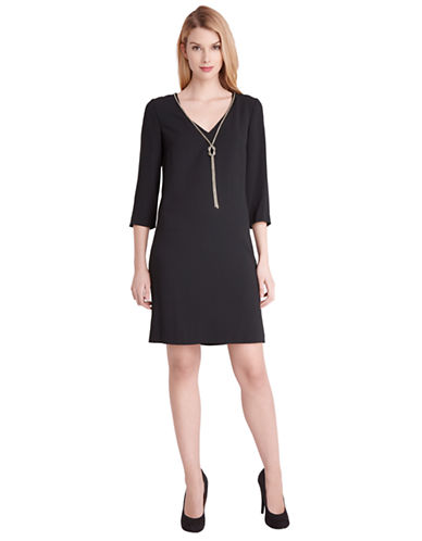 TAHARI ARTHUR S. LEVINEMax Necklace Shift Dress