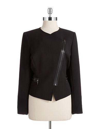 TAHARI ARTHUR S. LEVINEPonte Asymmetrical Zip Jacket