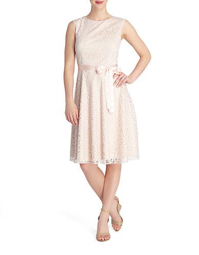 TAHARI ARTHUR S. LEVINEPetite Douglas Fit and Flare Dress