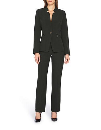 tahari arthur s levine female 227429 starneck pant suit