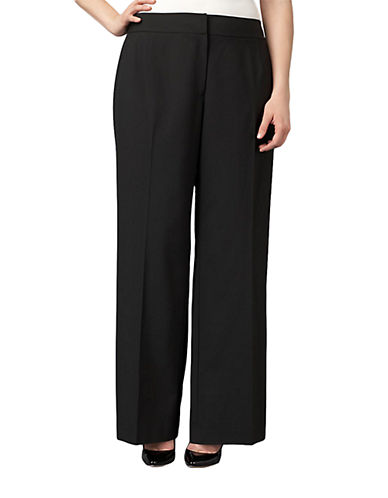 TAHARI ARTHUR S. LEVINE Plus Straight Leg Pants