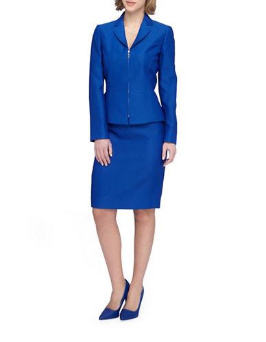 tahari arthur s levine female 201920 petite twopiece honeycomb skirt suit