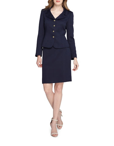 tahari arthur s levine female 236621 skirt suit set