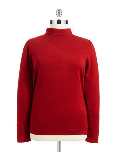 Joseph A Plus Mock Turtleneck Sweater