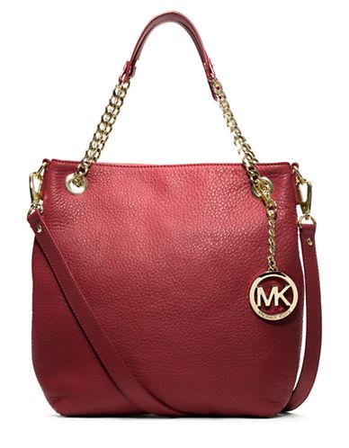 MICHAEL MICHAEL KORSJet Set Medium Chain Leather Tote Bag