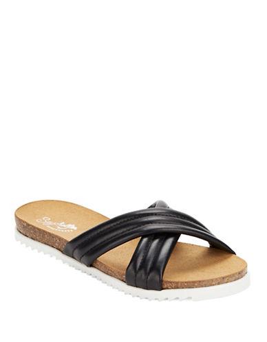 SEYCHELLESDusk Slide Leather Sandals
