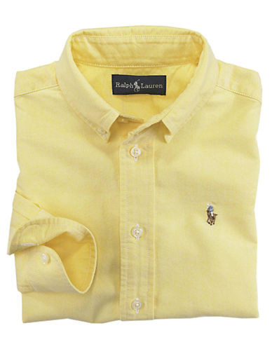 RALPH LAUREN CHILDRENSWEARBoys 2-7 Oxford Sport Shirt