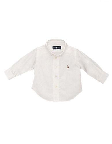 RALPH LAUREN CHILDRENSWEARBoys 2-7 Long-Sleeved Oxford Sport Shirt