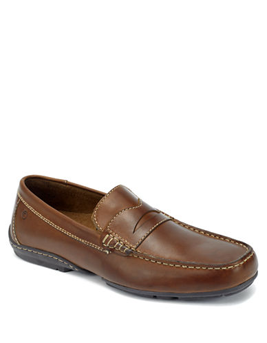 ROCKPORT Chaden Leather Penny Loafers