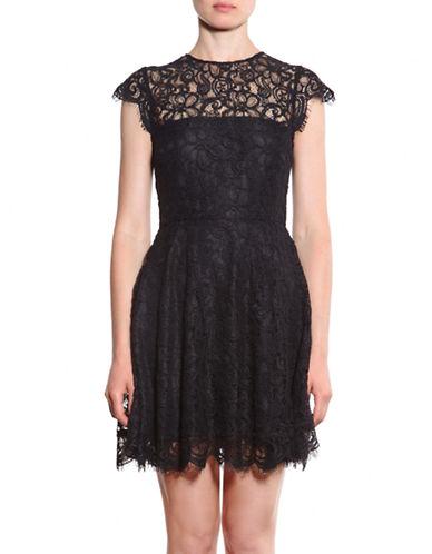 BB DAKOTARylin Lace Fit and Flare Dress