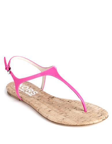 KORS MICHAEL KORSJoni Leather T-Strap Sandals