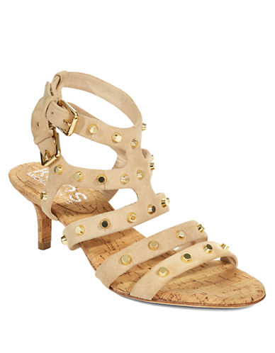 KORS MICHAEL KORS Shay Studded Suede Sandals