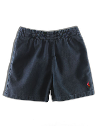 RALPH LAUREN CHILDRENSWEAR Baby Boys Cotton Twill Shorts