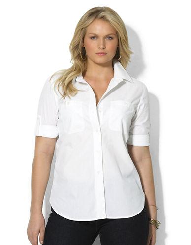 LAUREN RALPH LAURENPlus Long-Sleeved Shirt
