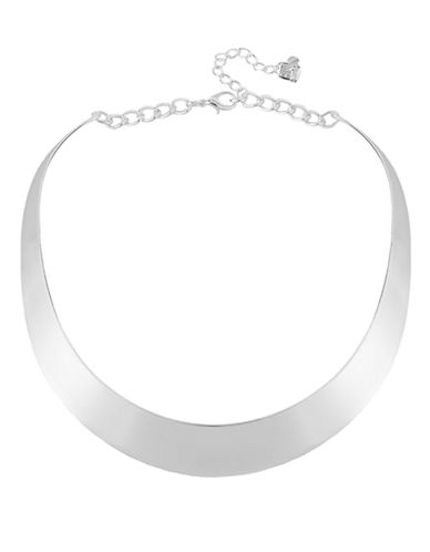 ROBERT LEE MORRIS SOHOSilver-Tone Half Moon Collar Necklace
