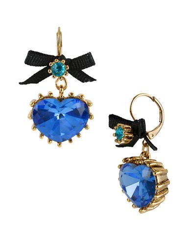 BETSEY JOHNSONBlue Lagoon Pendant Drop Earrings