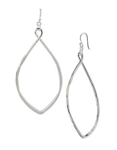 ROBERT LEE MORRIS SOHOSilver-Tone Oval Drop Earrings