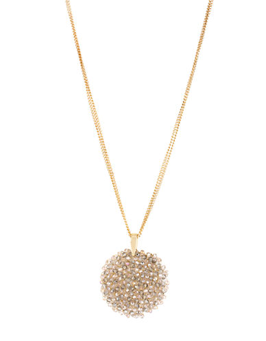 KENNETH COLE NEW YORKTopaz-Crystal Woven Pendant Necklace