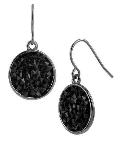 KENNETH COLE NEW YORK Faceted Bead Round Drop Earrings