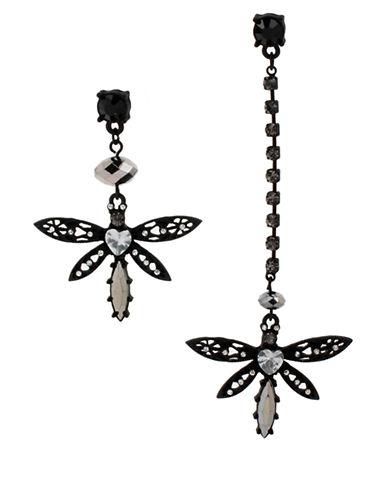 BETSEY JOHNSONDragonfly Mismatch Earrings
