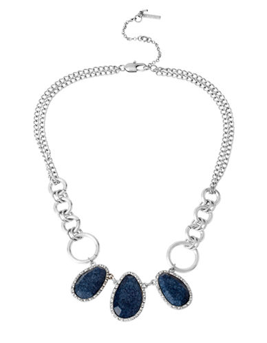 Kenneth Cole New York Faceted Bead Necklace