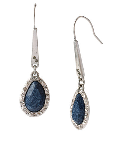 KENNETH COLE NEW YORKFaceted Bead Long Drop Earrings